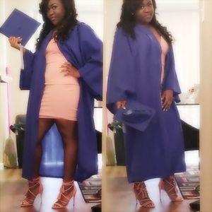 Blue Cap & Gown